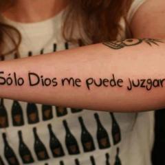 Solo Dios me puede juzgar. Si pero…